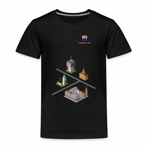 Raumagame mix - Lasten premium t-paita