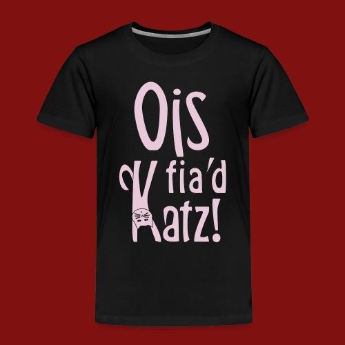 Ois fia´d Katz - Kinder Premium T-Shirt