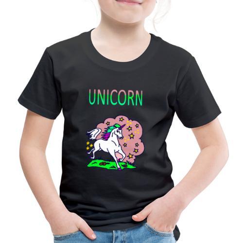 Einhorn unicorn - Kinder Premium T-Shirt