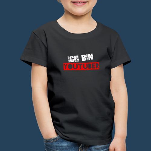 Ich bin Youtuber! (for dark shirts) - Kinder Premium T-Shirt
