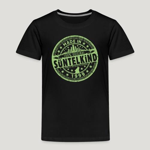 SÜNTELKIND 1999 - Das Süntel Shirt mit Süntelturm - Kinder Premium T-Shirt