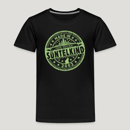 SÜNTELKIND 2002 - Das Süntel Shirt mit Süntelturm - Kinder Premium T-Shirt