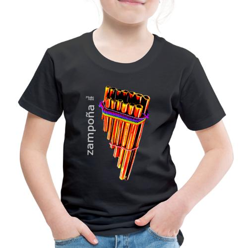 Zampoña clara - Kids' Premium T-Shirt
