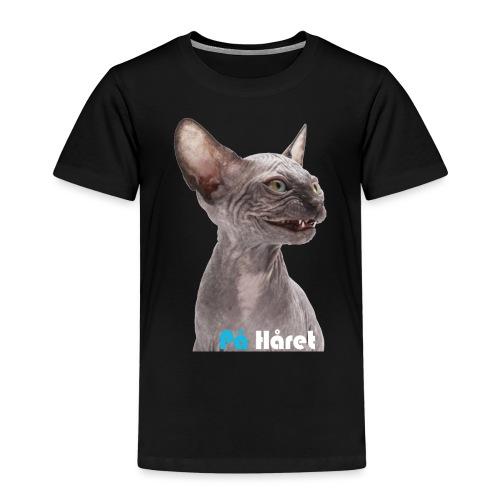 Katten - Premium-T-shirt barn
