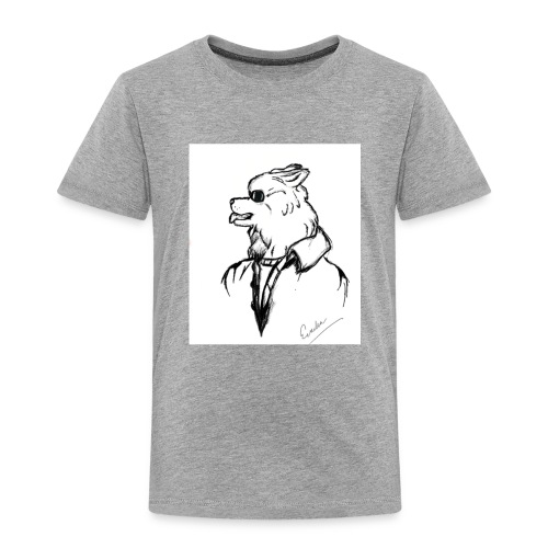 InkedThe Dog style bak LI - Camiseta premium niño
