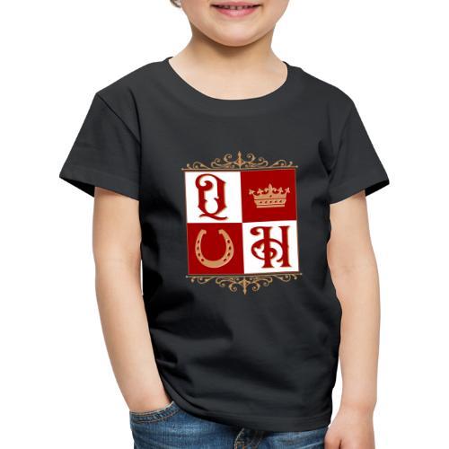 Quater Horse Ornament Pferd Royal König Geschenk - Kinder Premium T-Shirt