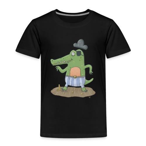 Piratenkrokodil - Kinder Premium T-Shirt