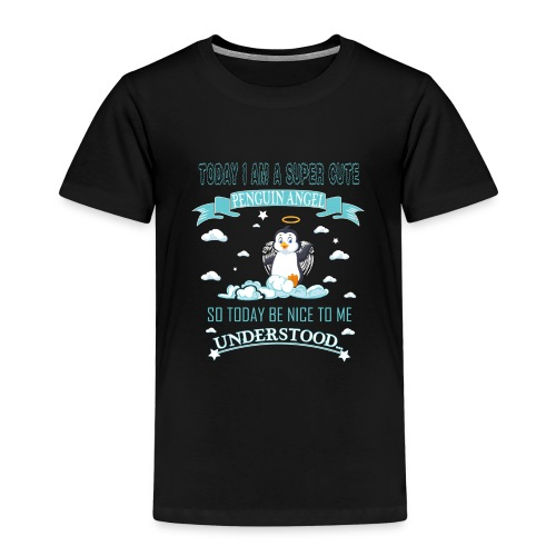 Pinguin Engel Weihnachten Antarktis Shirt Geschenk - Kinder Premium T-Shirt