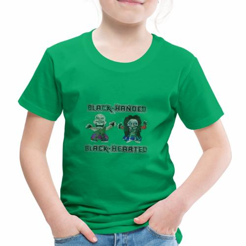 Black-Handed, Black-Hearted - Kids' Premium T-Shirt