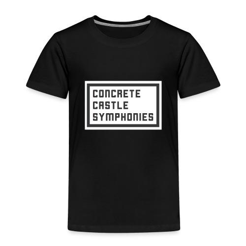 Concrete Castle Symphonies - Kinder Premium T-Shirt
