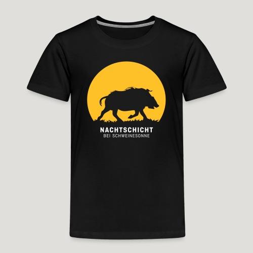 Nachtschicht bei Schweinesonne! Jäger Shirt Jaeger - Kinder Premium T-Shirt