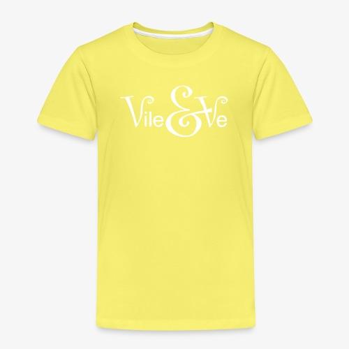Vile & Ve Logo - Premium T-skjorte for barn