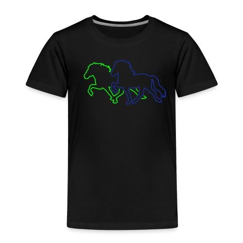 Tölt_Rennpass - Kinder Premium T-Shirt