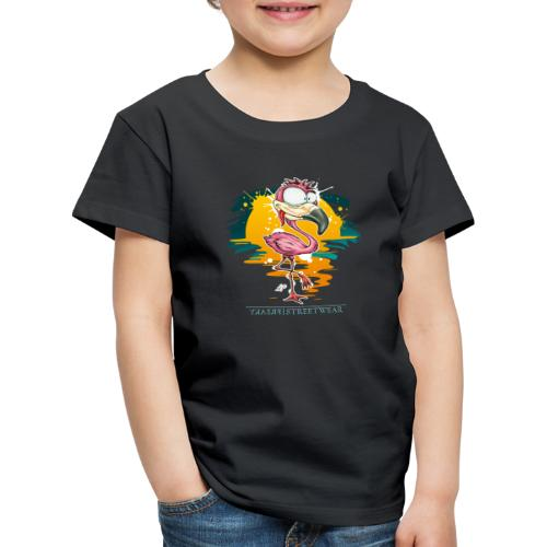 Flamingo Weirdo - Kinder Premium T-Shirt