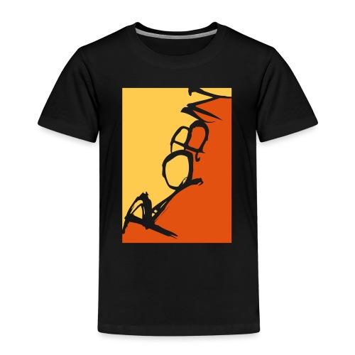 Männer-T-Shirt Robin scripted, schwarz - Kinder Premium T-Shirt