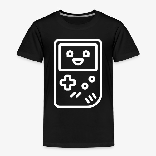 Smiling game console (white) - Kids' Premium T-Shirt