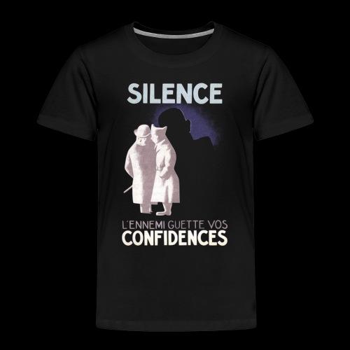 SiLENCE.. on vous écoute! (Style 1) - T-shirt Premium Enfant