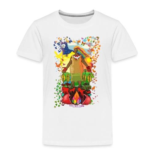 Mother Earth Creating - Kinderen Premium T-shirt