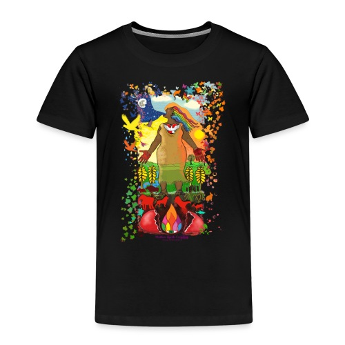 Mother Earth Creating - Kinderen Premium T-shirt