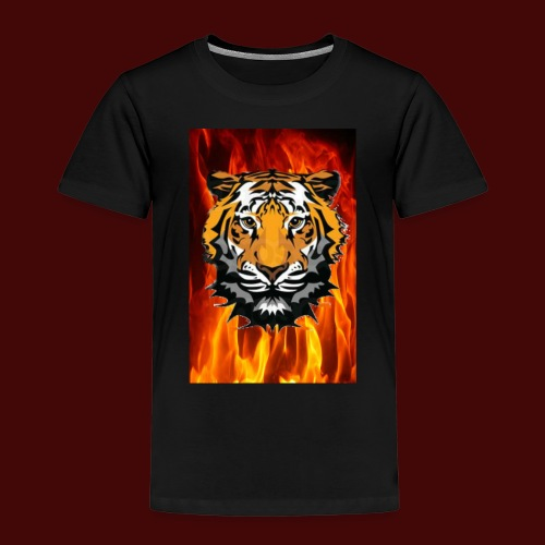 Fire Tiger - Kids' Premium T-Shirt