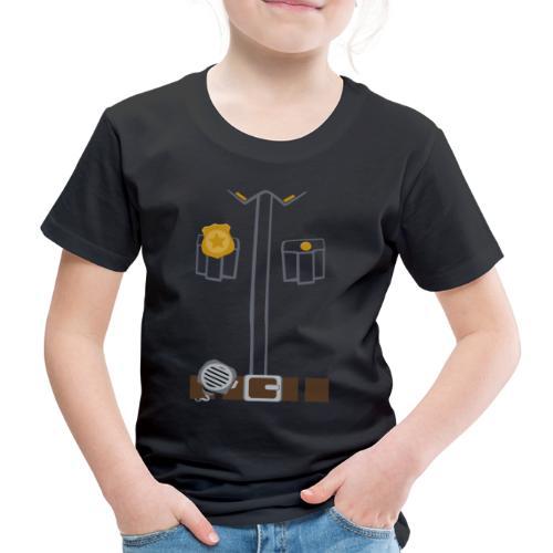 Police Costume Black - Kids' Premium T-Shirt