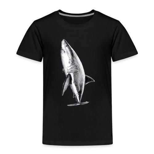 Gran tiburón blanco - Great white shark - Camiseta premium niño