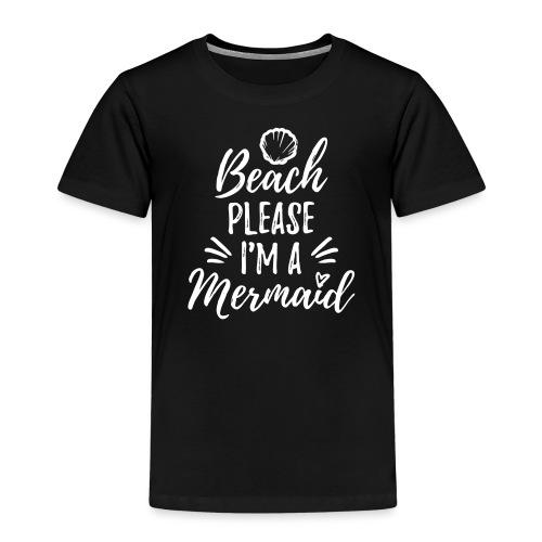 Beach please! - Kids' Premium T-Shirt