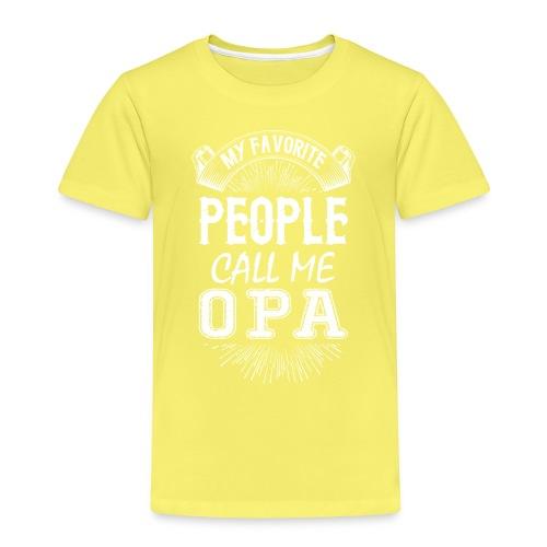 My Favorite People Call Me Opa - Kids' Premium T-Shirt