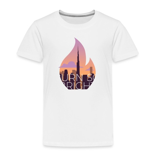Burn So Bright - Børne premium T-shirt