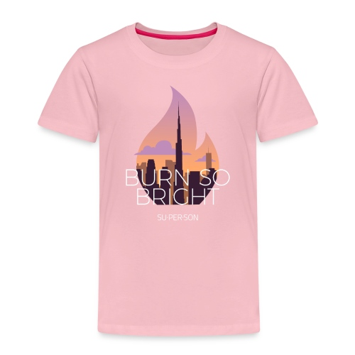 Burn So Bright - Børne premium T-shirt