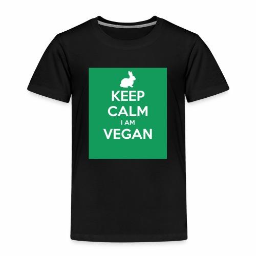 keep calm i am vegan 3 - T-shirt Premium Enfant