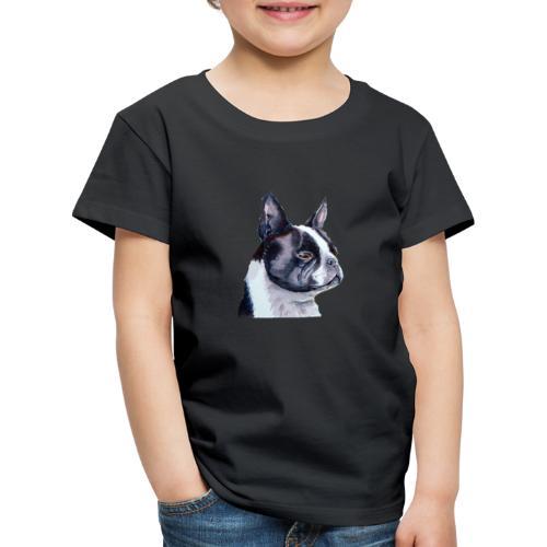 boston terrier - Børne premium T-shirt