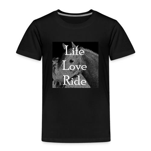 Life Love Ride - Kinder Premium T-Shirt