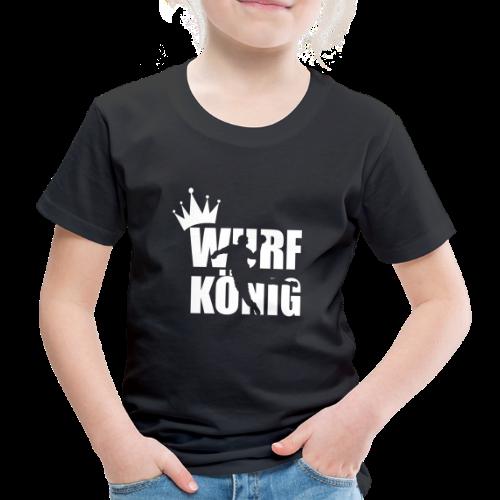 Wurfkoenig - Kinder Premium T-Shirt