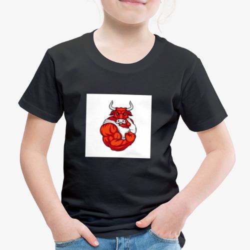 Bull taureau rouge red - T-shirt Premium Enfant