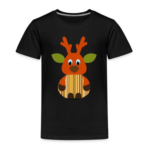 Elch gestreift - Kinder Premium T-Shirt
