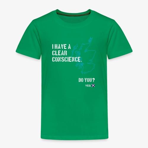 Clear Conscience - Kids' Premium T-Shirt