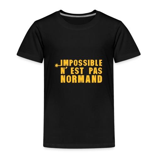 normand impossible nest pas meche - T-shirt Premium Enfant