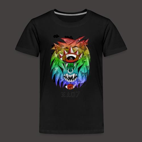 lion multi-color - T-shirt Premium Enfant