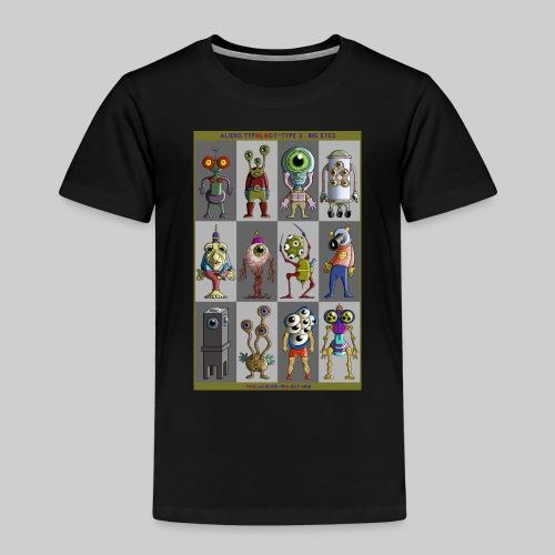 ALIEN TYPOLOGY TYPE 3: BIGEYES - T-shirt Premium Enfant