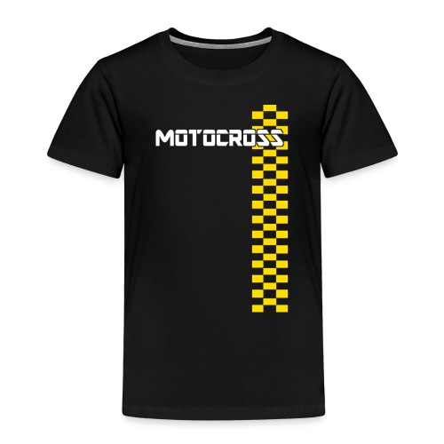 motocross - T-shirt Premium Enfant