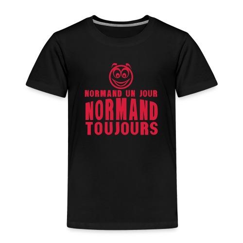 normand un jour toujours face 1 - T-shirt Premium Enfant