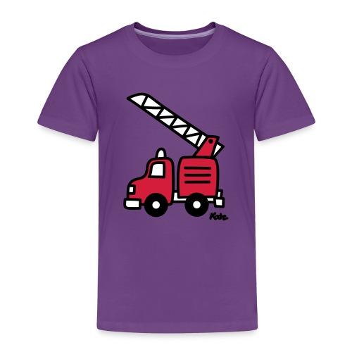 Feuerwehrauto (c) - Kinder Premium T-Shirt