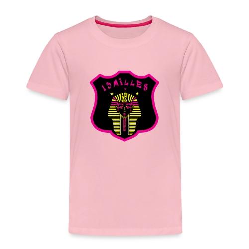 Pharaon Noir, Rose, Jaune hyper design - T-shirt Premium Enfant