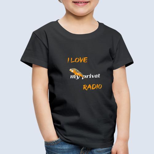 Wellensittich mein privates Radio - Kinder Premium T-Shirt