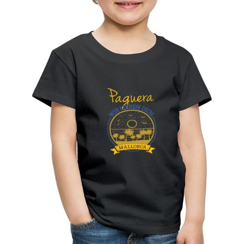Paguera - Peguera Mallorca - Fan Design - Kinder Premium T-Shirt