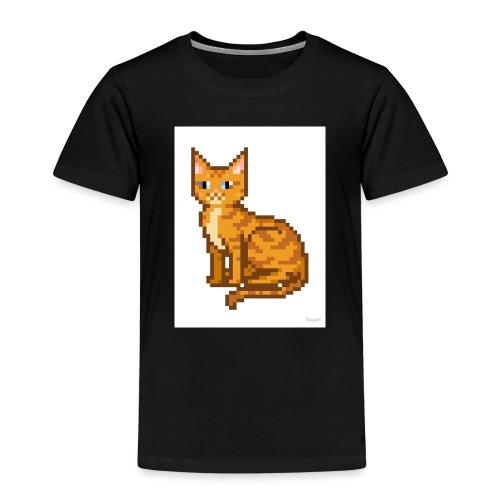 logo pixel gamer123 - Kids' Premium T-Shirt
