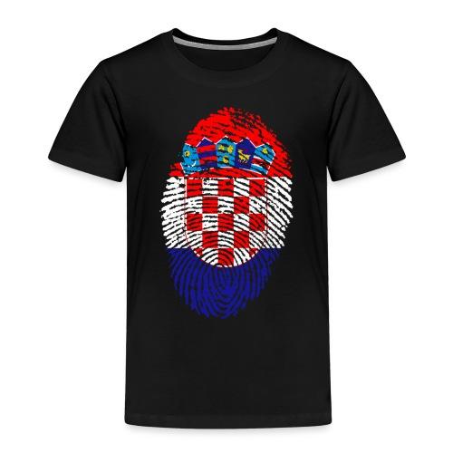 T-shirt imprimé drapeau Croatie - T-shirt Premium Enfant