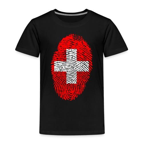 T-shirt imprimé drapeau suisse - T-shirt Premium Enfant