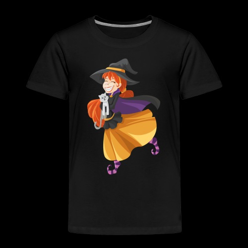 Hexenmädchen - Kinder Premium T-Shirt
